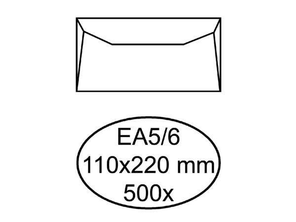 Wit Bankje Met Klep.Etiket Herma Adres 4301 95x48mm 250stuks Zig Zag